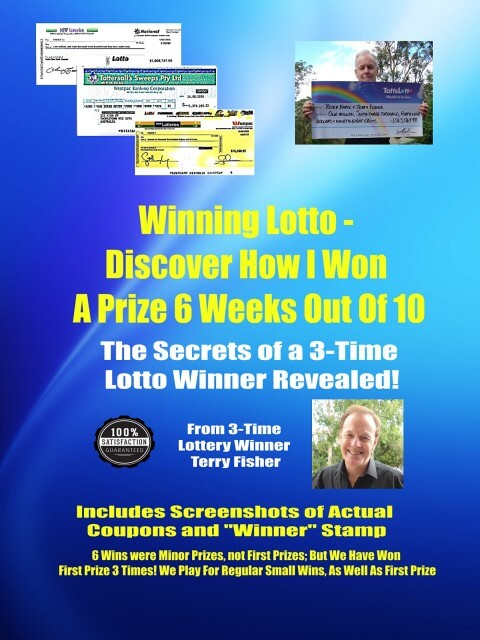 Winning Lotto Book - How I Won Lotto 6 Weeks Out Of 10