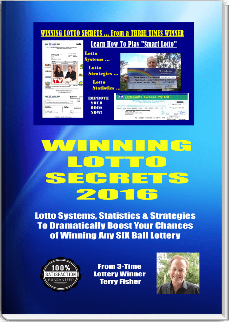 Lotto Secrets Book Cover