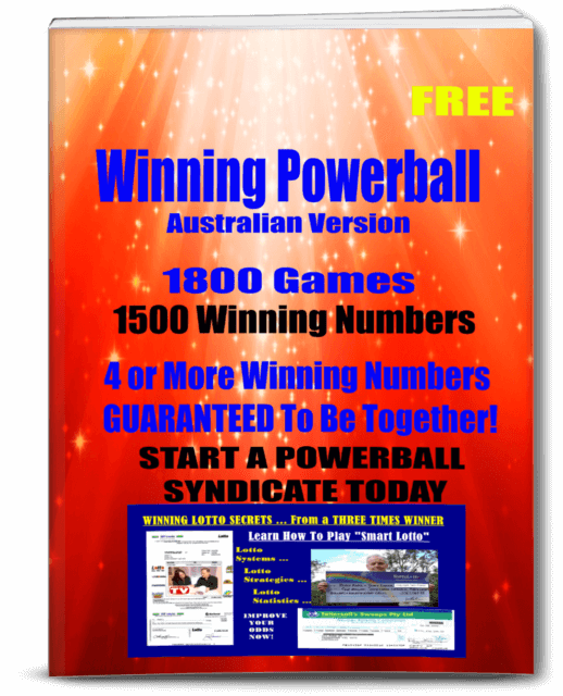 Free Powerball Report for Powerball Australia