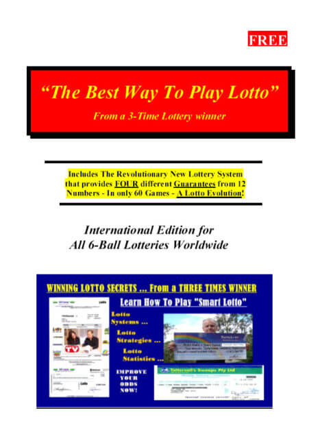 Lotto Agents | Winning Lotto Books, Systems & Strategies